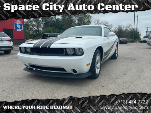2013 Dodge Challenger for sale at Space City Auto Center in Houston TX