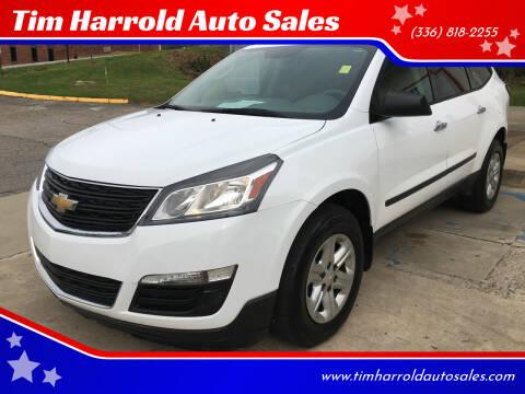 2016 Chevrolet Traverse for sale at Tim Harrold Auto Sales in Wilkesboro NC