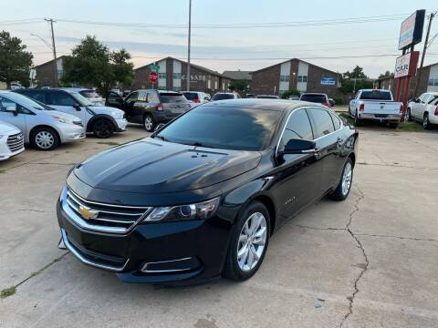 2017 Chevrolet Impala for sale at Car Gallery in Oklahoma City OK