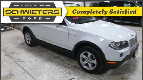2007 BMW X3 for sale at Schwieters Ford of Montevideo in Montevideo MN