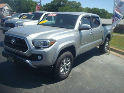2017 Toyota Tacoma for sale at Mike Lipscomb Auto Sales in Anniston AL