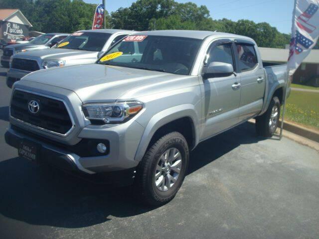 2017 Toyota Tacoma for sale at Mike Lipscomb Auto Sales in Anniston AL