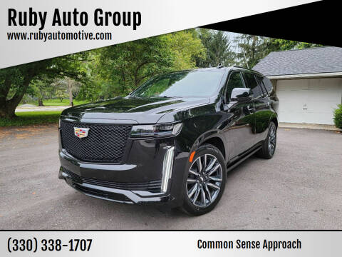 2021 Cadillac Escalade for sale at Ruby Auto Group in Hudson OH