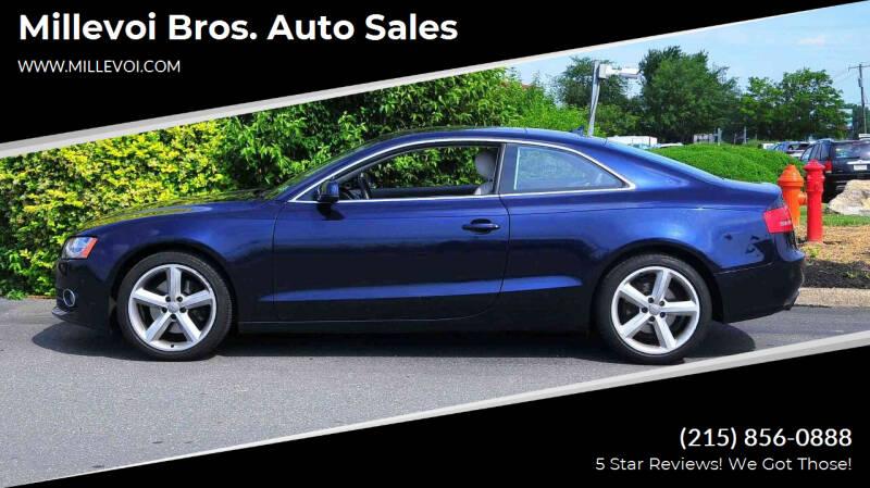 2010 Audi A5 for sale at Millevoi Bros. Auto Sales in Philadelphia PA