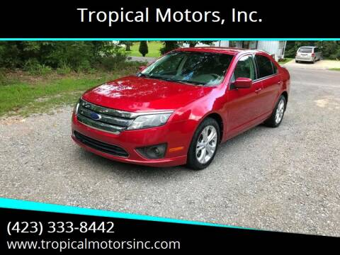 2011 Ford Fusion for sale at Tropical Motors, Inc. in Riceville TN