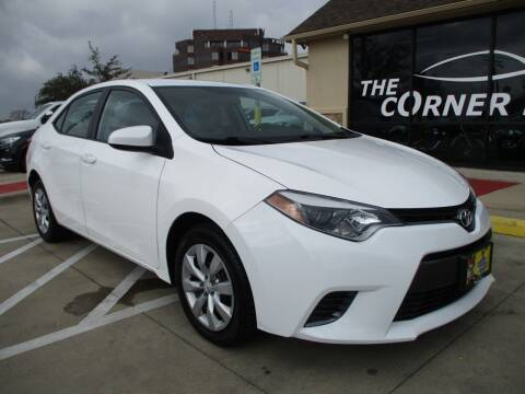 2016 Toyota Corolla for sale at Cornerlot.net in Bryan TX