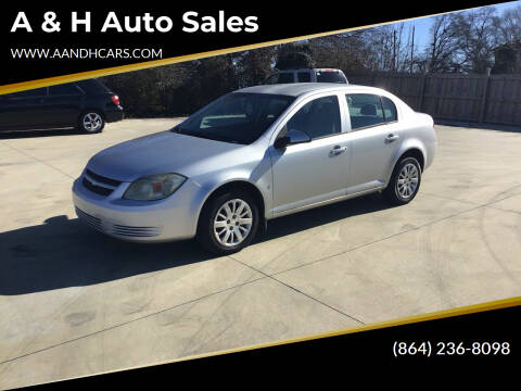2009 Chevrolet Cobalt for sale at A & H Auto Sales in Greenville SC