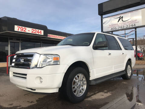 2012 Ford Expedition EL for sale at NORRIS AUTO SALES in Oklahoma City OK