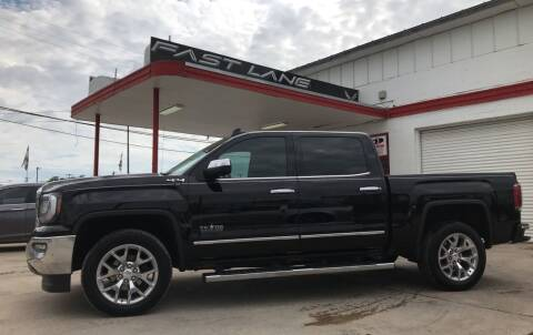 2018 GMC Sierra 1500 for sale at FAST LANE AUTO SALES in San Antonio TX
