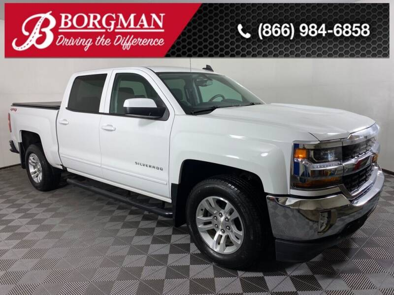 2018 Chevrolet Silverado 1500 for sale at BORGMAN OF HOLLAND LLC in Holland MI