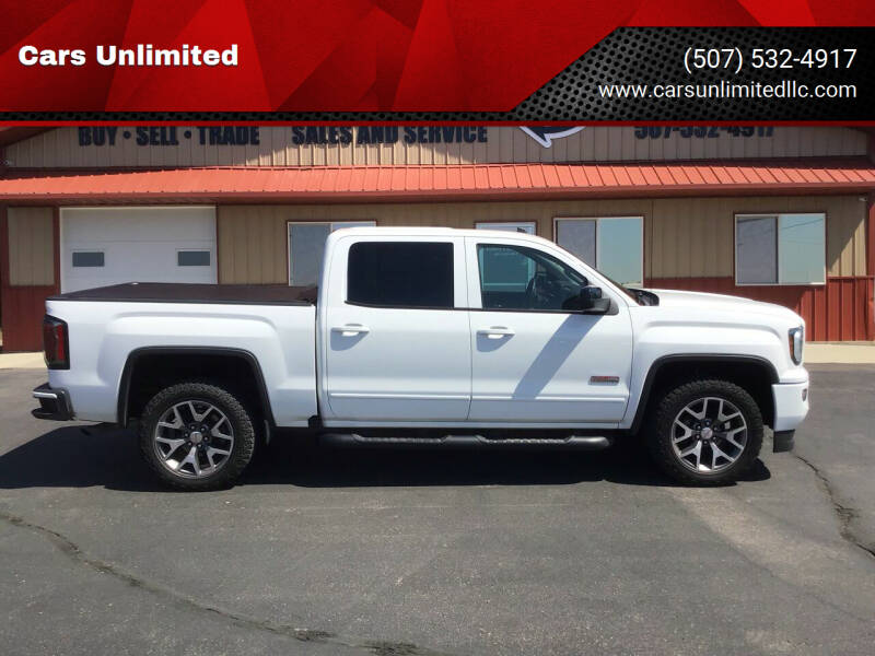2017 GMC Sierra 1500 for sale at Cars Unlimited in Marshall MN
