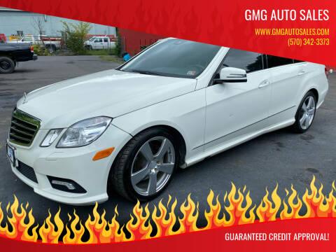 2011 Mercedes-Benz E-Class for sale at GMG AUTO SALES in Scranton PA