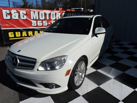 2008 Mercedes-Benz C-Class for sale at C & C Motor Co. in Knoxville TN