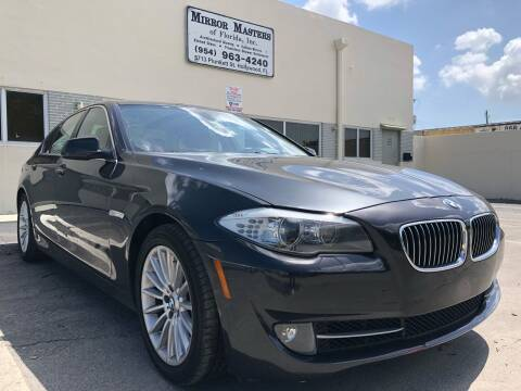 2013 BMW 5 Series for sale at Eden Cars Inc in Hollywood FL