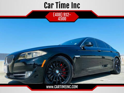 2011 BMW 5 Series for sale at Car Time Inc in San Jose CA