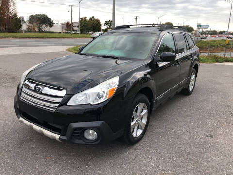 2014 Subaru Outback for sale at Reliable Motor Broker INC in Tampa FL