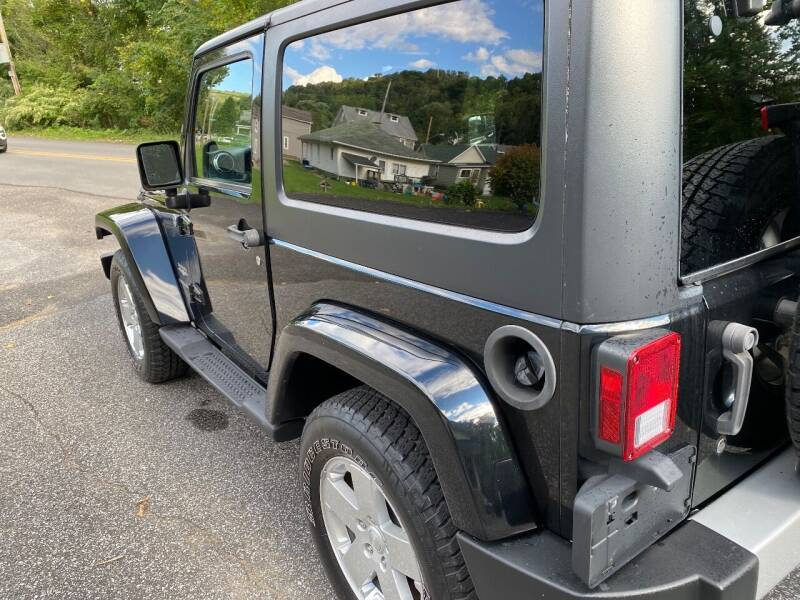 2011 Jeep Wrangler for sale at WHARTON'S AUTO SVC & USED CARS in Wheeling WV