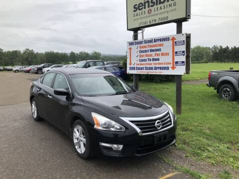 2013 Nissan Altima for sale at Sensible Sales & Leasing in Fredonia NY