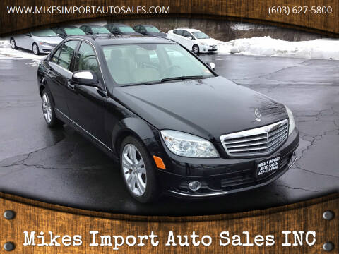 2009 Mercedes-Benz C-Class for sale at Mikes Import Auto Sales INC in Hooksett NH