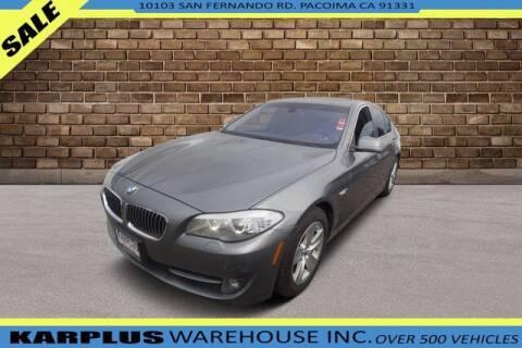 2013 BMW 5 Series for sale at Karplus Warehouse in Pacoima CA