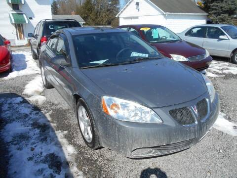2007 Pontiac G6 for sale at English Autos in Grove City PA