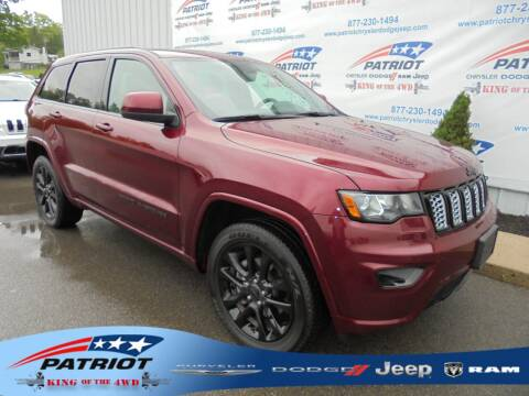 2020 Jeep Grand Cherokee for sale at PATRIOT CHRYSLER DODGE JEEP RAM in Oakland MD