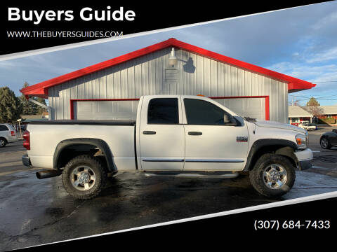 2008 Dodge Ram Pickup 2500 for sale at Buyers Guide in Buffalo WY