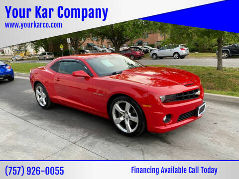 2010 Chevrolet Camaro for sale at Your Kar Company in Norfolk VA