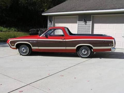 1970 Ford Ranchero for sale at Classic Car Deals in Cadillac MI