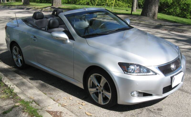 2014 Lexus IS 350C for sale at Burhill Leasing Corp. in Dayton OH