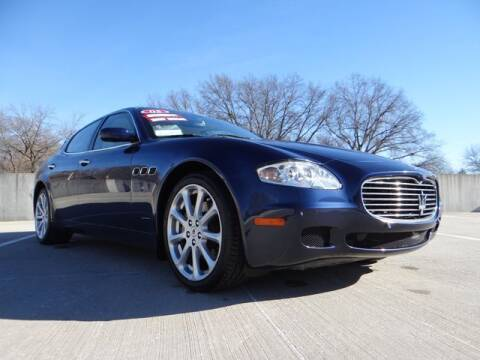 2005 Maserati Quattroporte for sale at KC Car Gallery in Kansas City KS