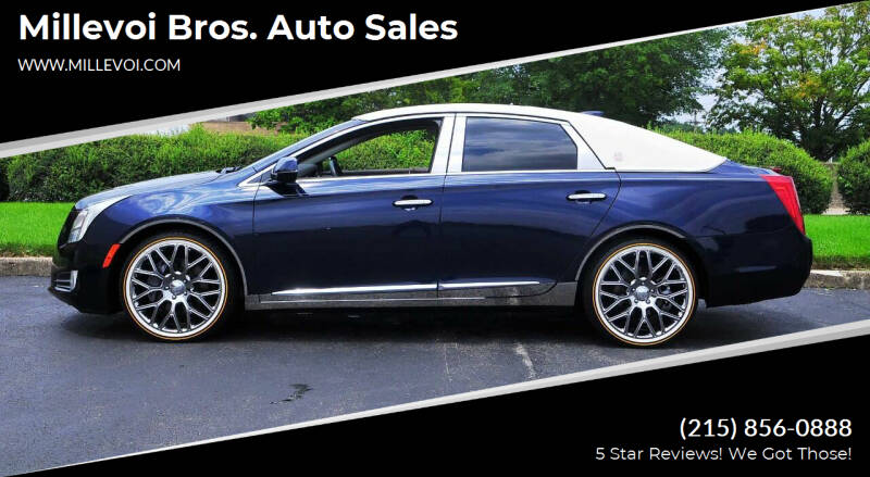 2016 Cadillac XTS for sale at Millevoi Bros. Auto Sales in Philadelphia PA