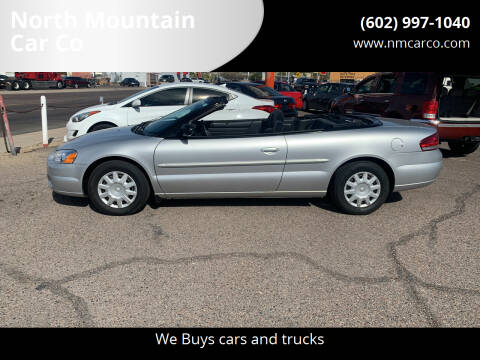 2004 Chrysler Sebring for sale at North Mountain Car Co in Phoenix AZ