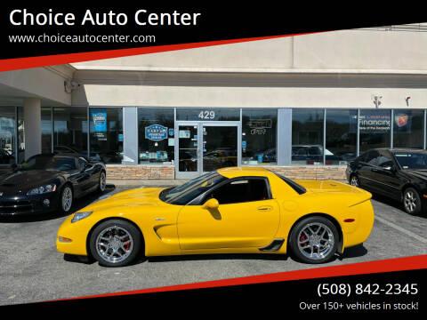 2002 Chevrolet Corvette for sale at Choice Auto Center in Shrewsbury MA