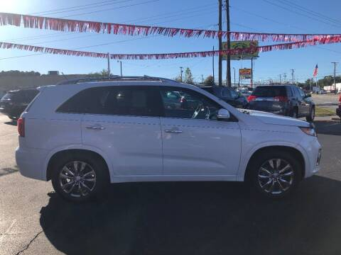 2012 Kia Sorento for sale at Kenny's Auto Sales Inc. in Lowell NC