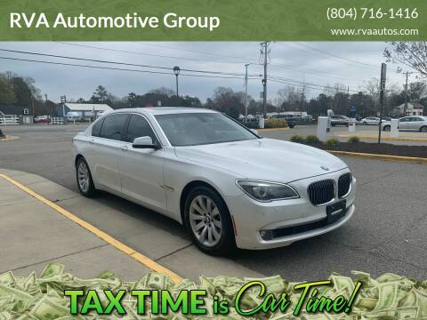 2009 BMW 7 Series for sale at RVA Automotive Group in North Chesterfield VA