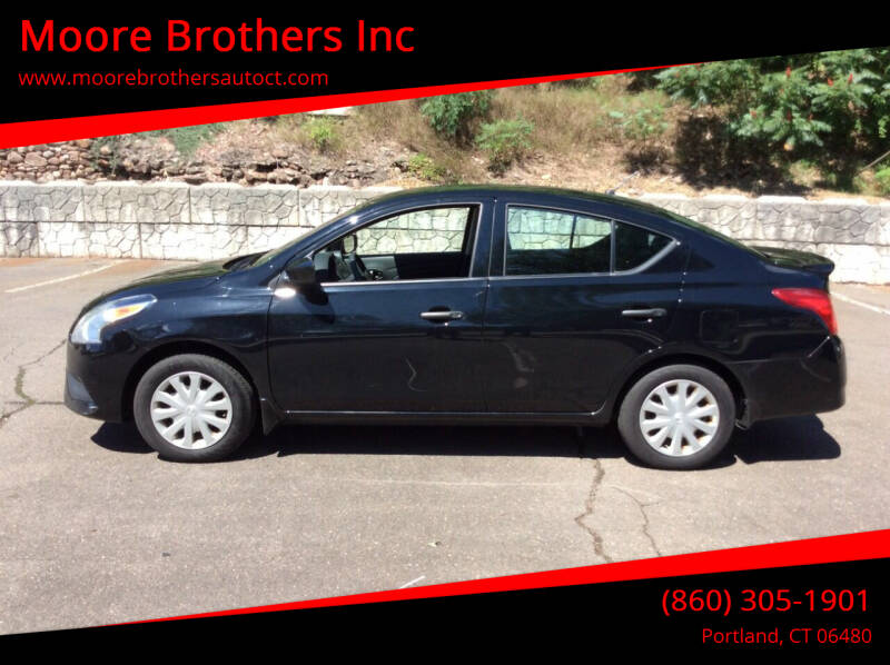 2016 Nissan Versa for sale at Moore Brothers Inc in Portland CT