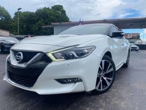 2016 Nissan Maxima for sale at LATINOS MOTOR OF ORLANDO in Orlando FL