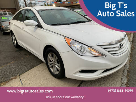 2013 Hyundai Sonata for sale at Big T's Auto Sales in Belleville NJ