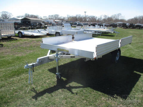 2022 Aluma Aluminum Single Axle Utility A for sale at Rondo Truck & Trailer in Sycamore IL
