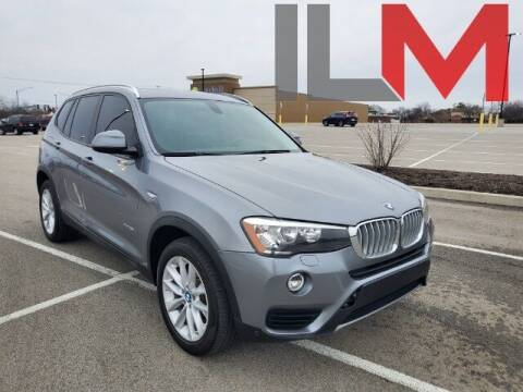 2017 BMW X3 for sale at INDY LUXURY MOTORSPORTS in Fishers IN