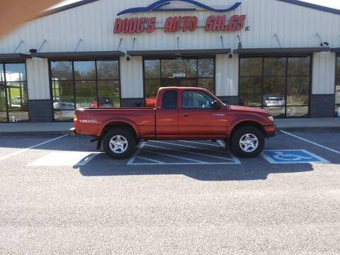 2002 Toyota Tacoma for sale at DOUG'S AUTO SALES INC in Pleasant View TN
