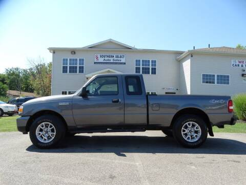 2011 Ford Ranger for sale at SOUTHERN SELECT AUTO SALES in Medina OH