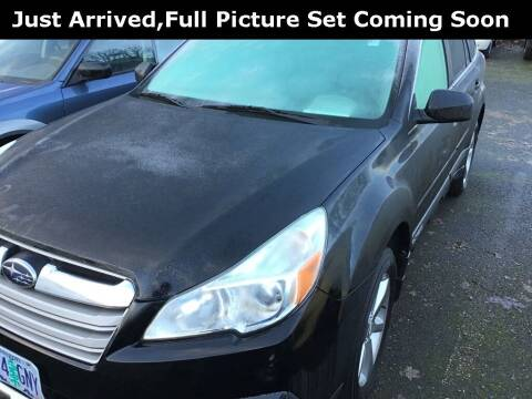 2014 Subaru Outback for sale at Royal Moore Custom Finance in Hillsboro OR