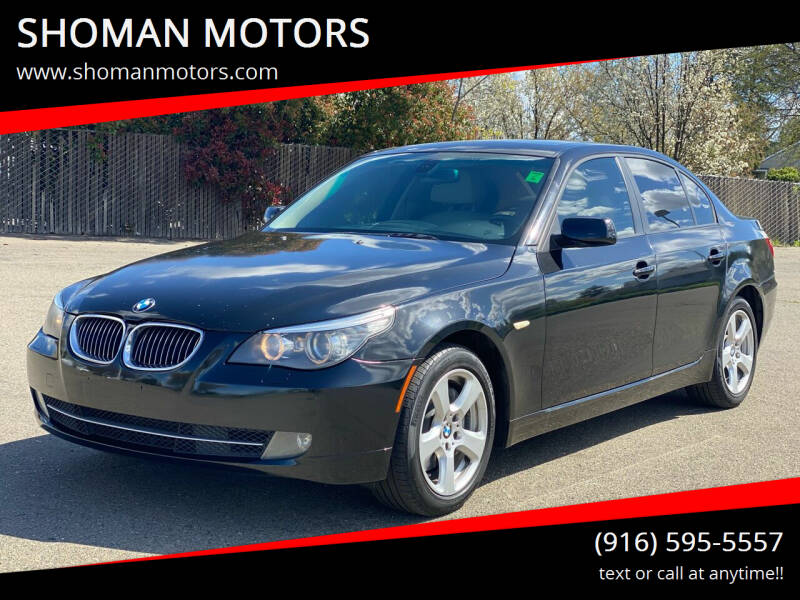2008 BMW 5 Series for sale at SHOMAN AUTO GROUP in Davis CA