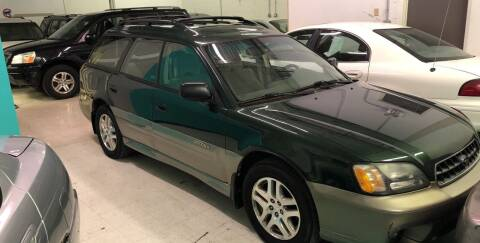 2003 Subaru Outback for sale at Cargo Vans of Chicago LLC in Mokena IL