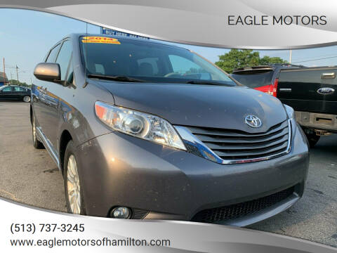 2014 Toyota Sienna for sale at Eagle Motors in Hamilton OH