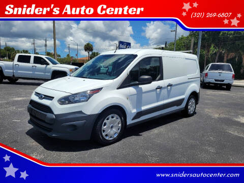 2016 Ford Transit Connect Cargo for sale at Titus Trucks in Titusville FL