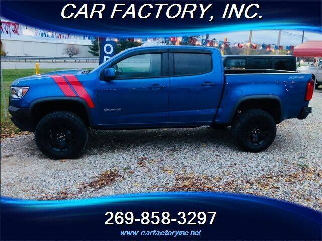 2018 Chevrolet Colorado for sale at Car Factory Inc. in Three Rivers MI