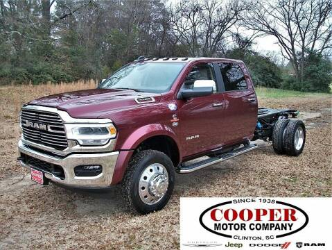 2021 RAM Ram Chassis 4500 for sale at Cooper Motor Company in Clinton SC